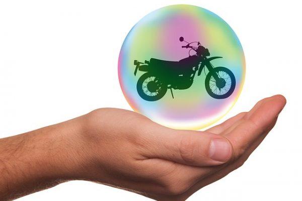 porte-assurance pour moto